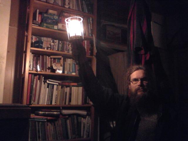 Diogenes in the dark