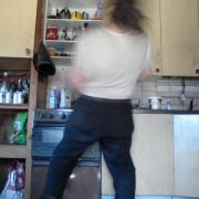 rock the kitchen, I'm cooking