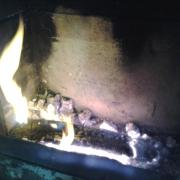 heating my house in the midsummer
