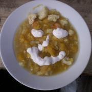 pumpkin stew with smetana