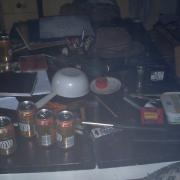 my kitchen table on a monday morning