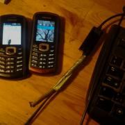 phones and an audio cable