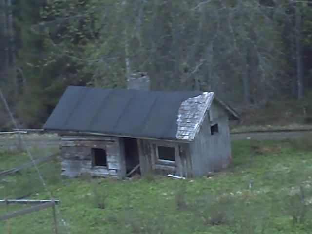 the old sauna