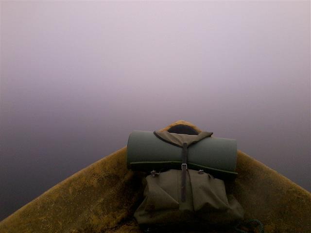 Mist over Lake Paloselkä