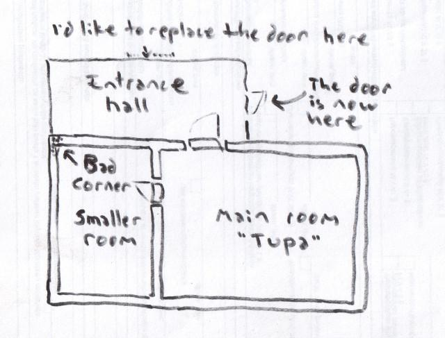 a floor plan of my house