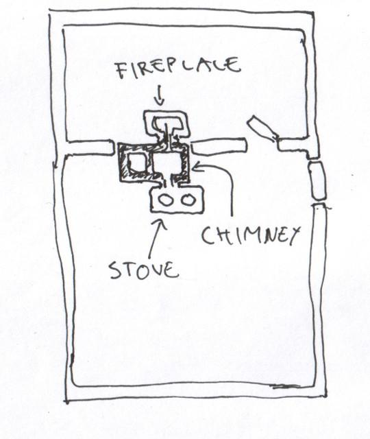 the fireplaces of my house