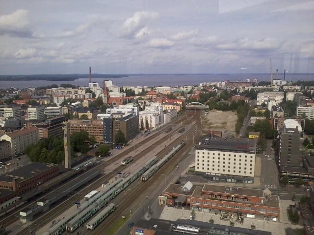 A view over Tampere city