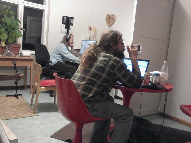 indie developers at work