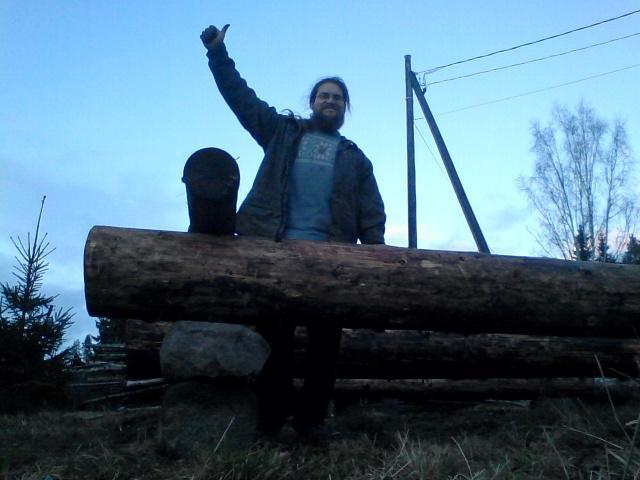 A happy homesteader
