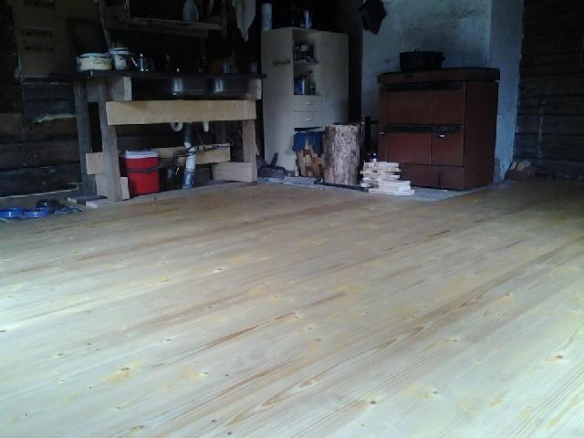 The new floor
