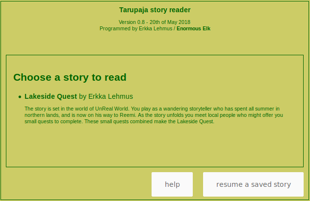 The browser-based reader.