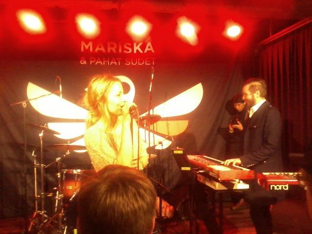 keyboards: Klaus Suominen, drums: Jaakko Jakku